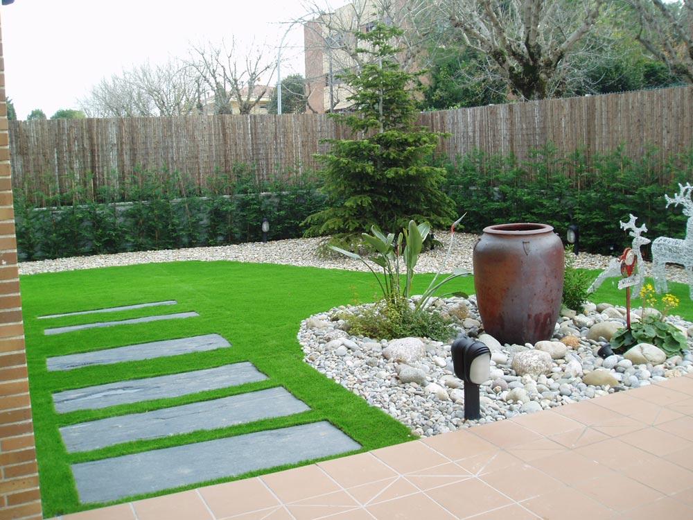 Canto rodado especial sunset jard pond for Adornos para parques y jardines