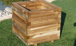 Jardeneras de madera