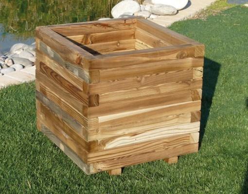 Jardineras de madera madering jard pond - Jardineras de madera caseras ...