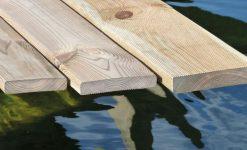 Lamas de madera