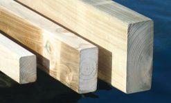 madering travesaños madera tratada