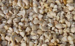 Triturado mármol ecorosa