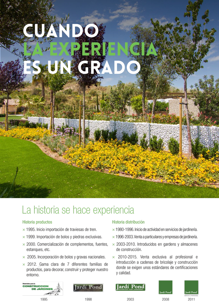 Folleto jardi pond archives jardi pond mayoristas en materiales para jardiner a - Jardi pond terrassa ...