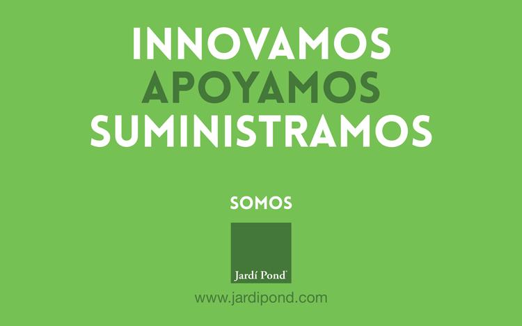 Innovamos, apoyamos y suministramos