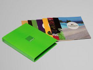 Catálogos Jardí Pond en carpeta con anillas