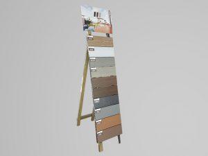 Muestrario Tarima de madera sintética Supradeck