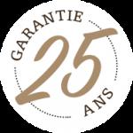 25 ans garantie